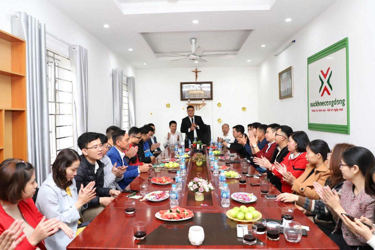 Công ty Cổ phần Đầu tư Sức khỏe cộng đồng đã tổ chức buổi gặp mặt đầu năm Xuân Tân Sửu 2021
